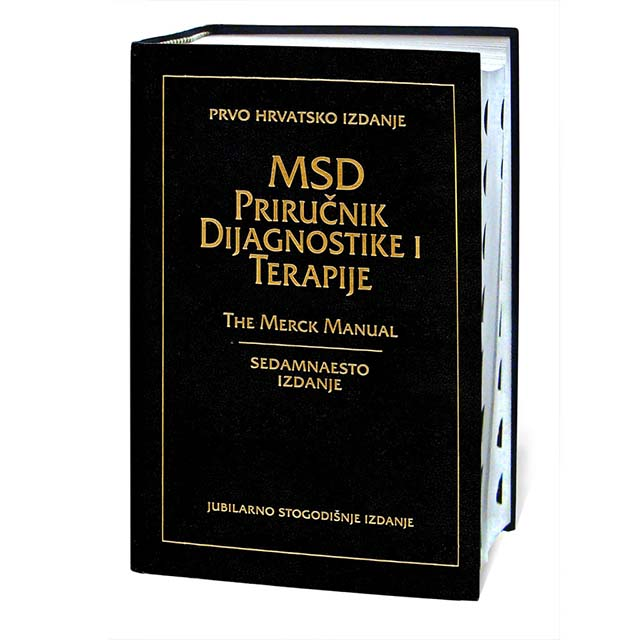 Priručnik dijagnostike i terapije – The Merck Manual