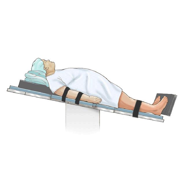 Test na nagibnom stolu (Tilt-up table test)